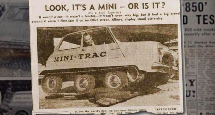 Mini-Trac Newspaper