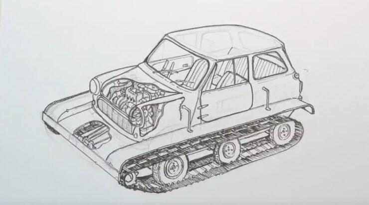 Mini-Trac Sketch