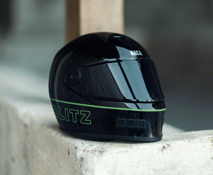 NACA x Blitz Full Face Helmet 1