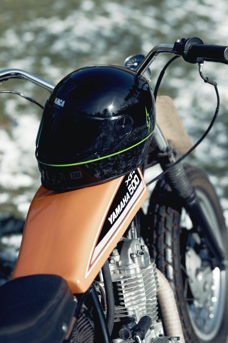 NACA x Blitz Full Face Helmet 6
