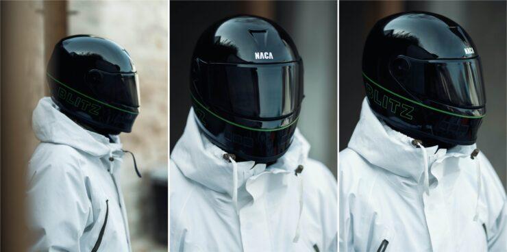 NACA x Blitz Full Face Helmet