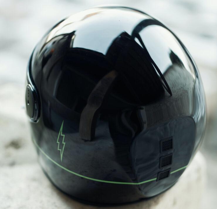 NACA x Blitz Full Face Helmet Back