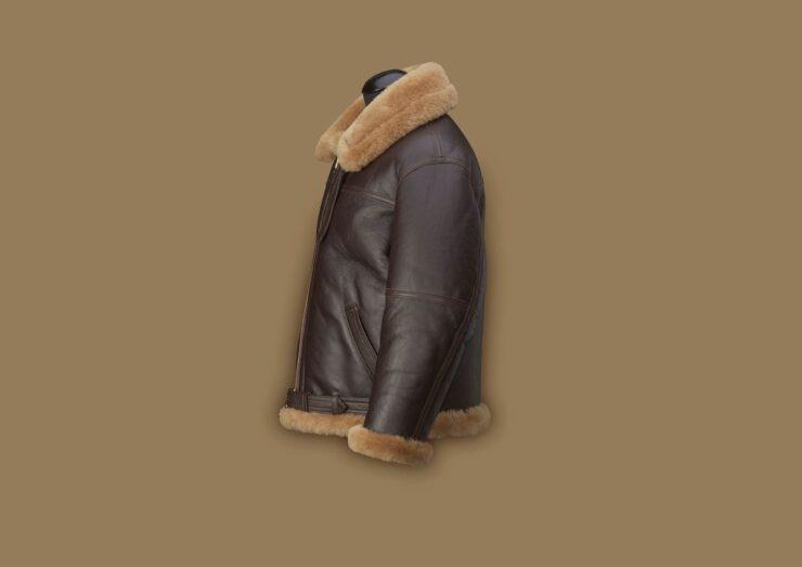 Original Irvin Flying Jacket Side