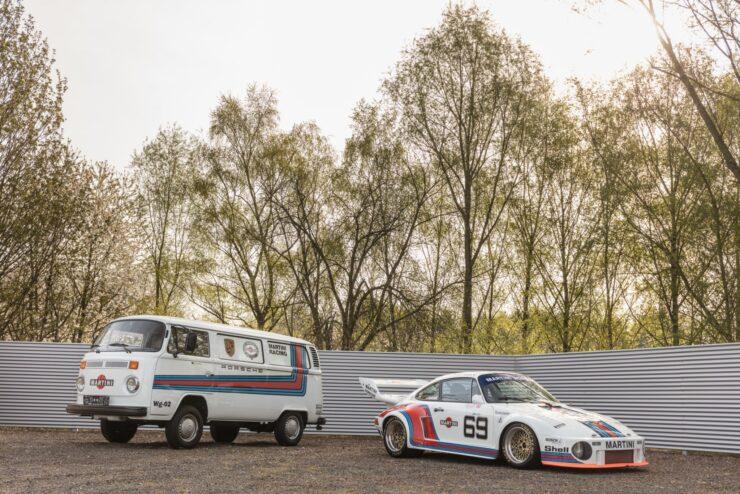 Porsche Martini Livery