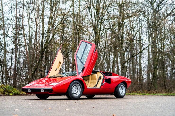Rod Stewart Lamborghini Countach 13