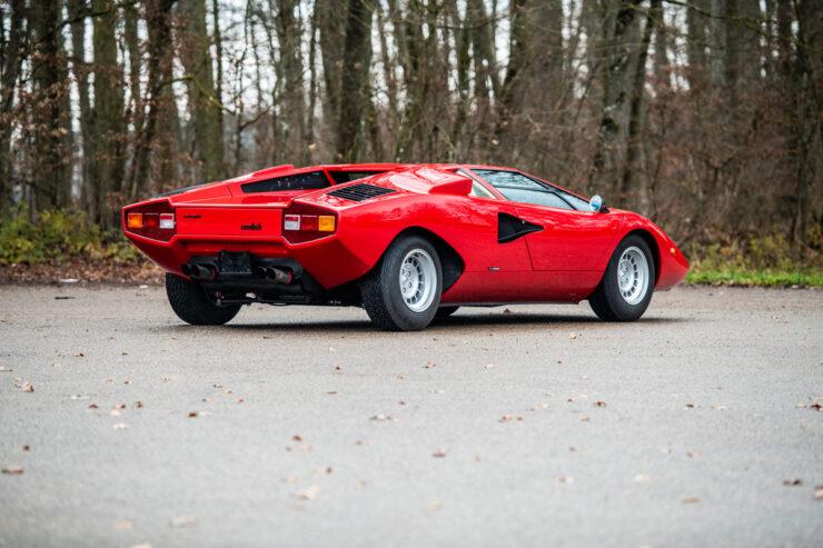 Rod Stewart Lamborghini Countach 2