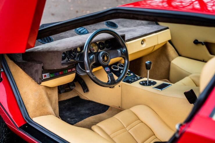 Rod Stewart Lamborghini Countach 4