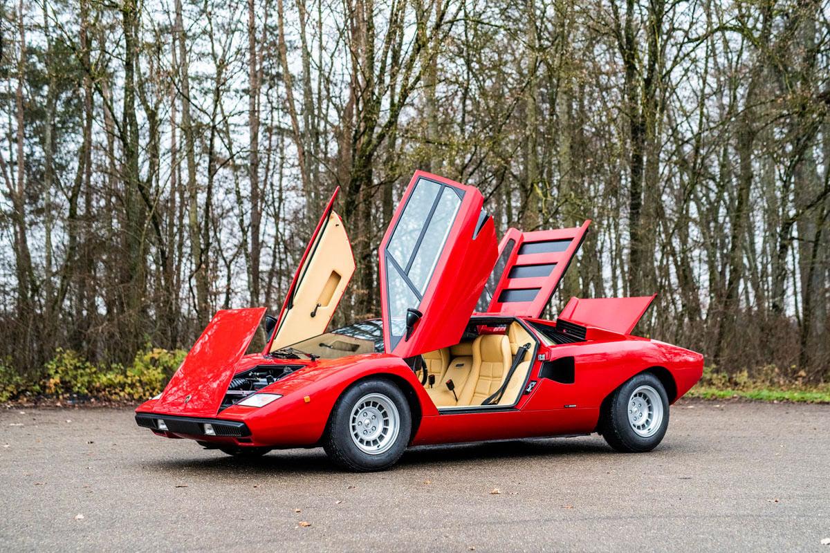 Rod Stewart Lamborghini Countach