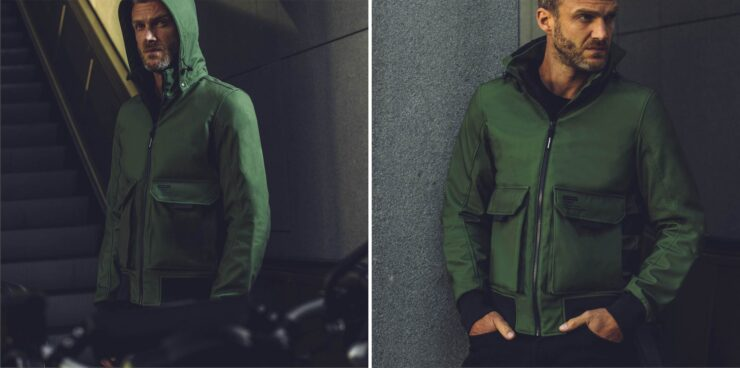 Spidi Metromover Motorcycle Jacket Green