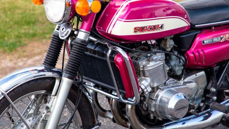 Suzuki GT750 9