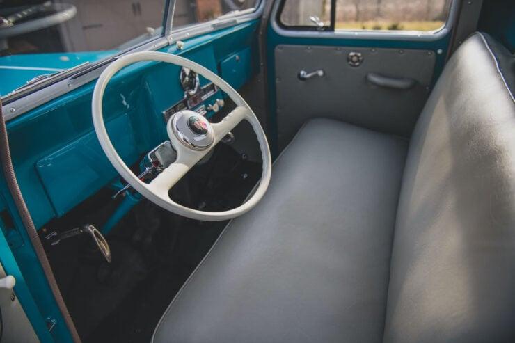 Willys 4x4 Pickup Truck Interior