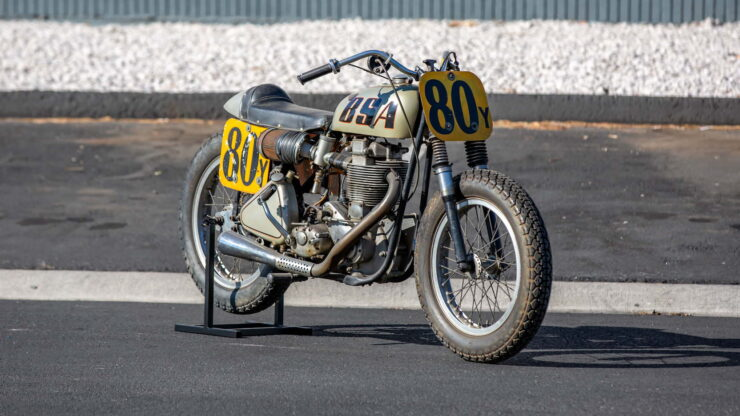 BSA Goldstar Flat Tracker 1