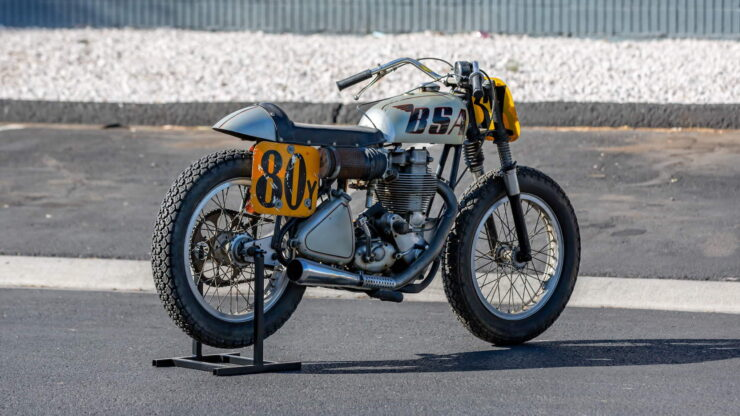 BSA Goldstar Flat Tracker 10