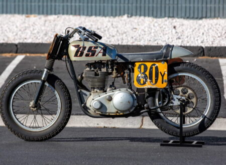 BSA Goldstar Flat Tracker