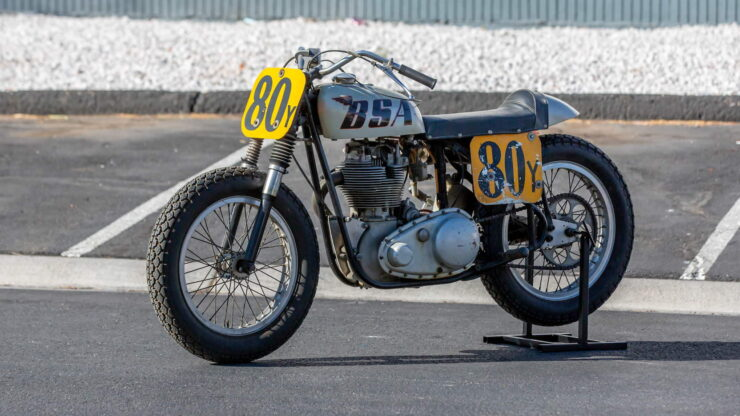 BSA Goldstar Flat Tracker 9