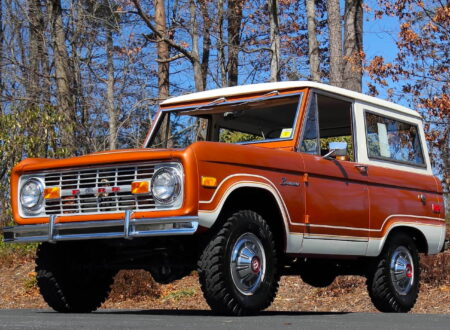First Generation Ford Bronco 13