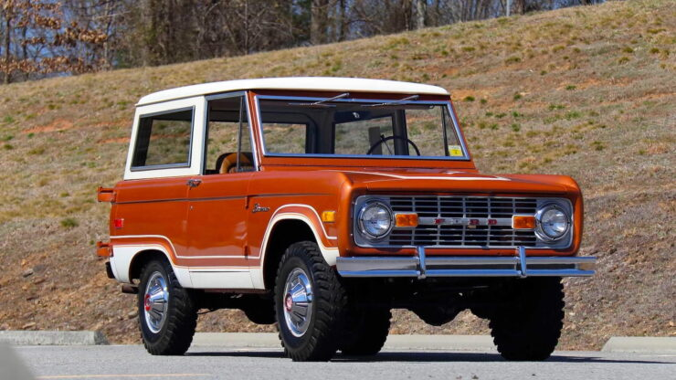First Generation Ford Bronco 16