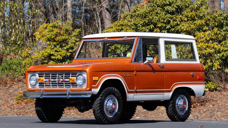 First Generation Ford Bronco 8