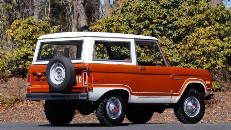 First Generation Ford Bronco 9