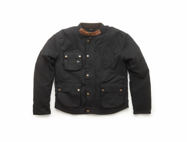 Fuel Division 2 Black Motorcycle Jacket 1