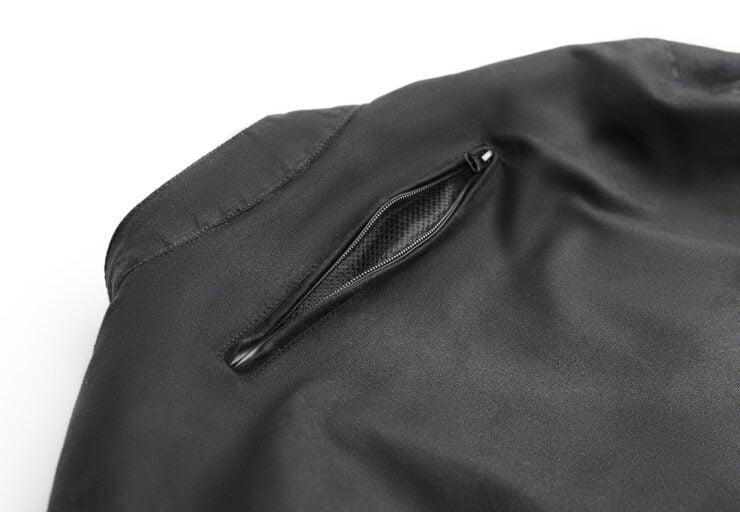 Fuel Division 2 Black Motorcycle Jacket 10