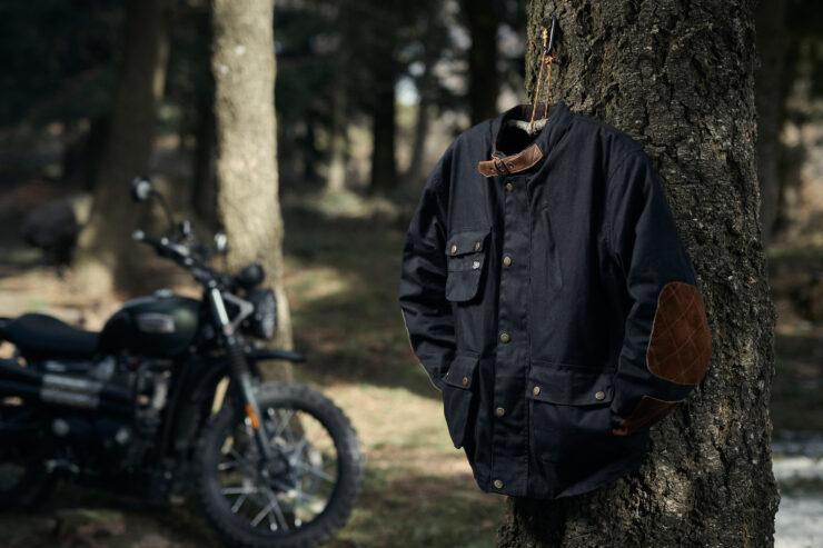 Fuel Division 2 Black Motorcycle Jacket 12