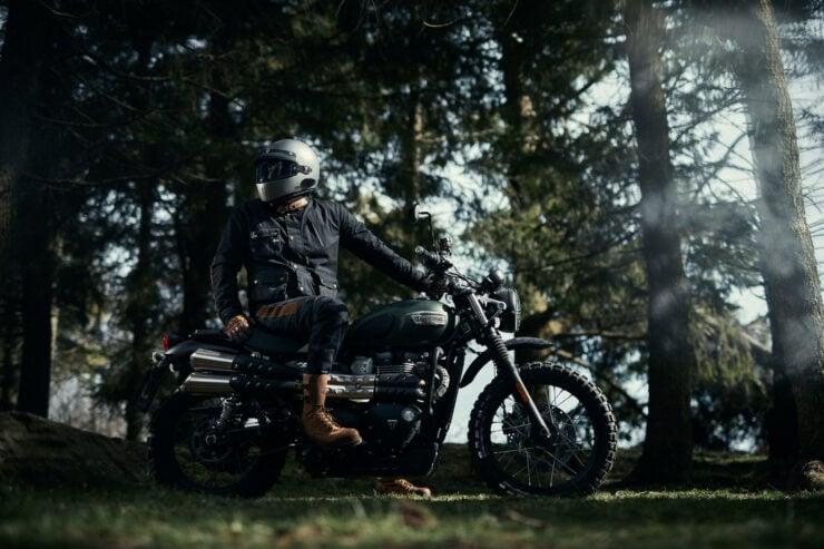 Fuel Division 2 Black Motorcycle Jacket 13