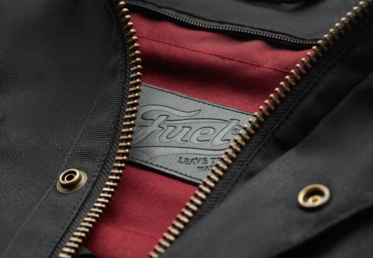 Fuel Division 2 Black Motorcycle Jacket 4