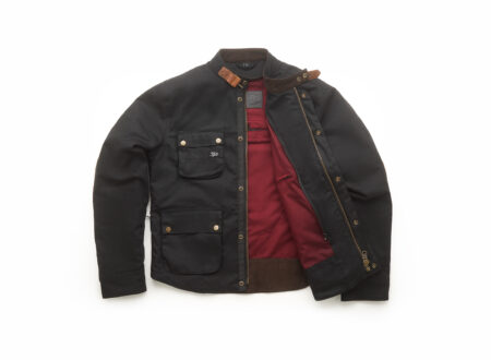 Fuel Division 2 Black Motorcycle Jacket