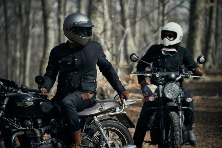 Fuel Division 2 Black Motorcycle Jacket 7