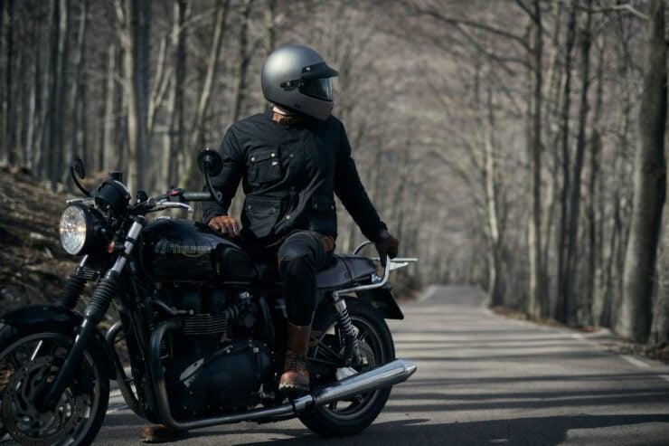 Fuel Division 2 Black Motorcycle Jacket 8