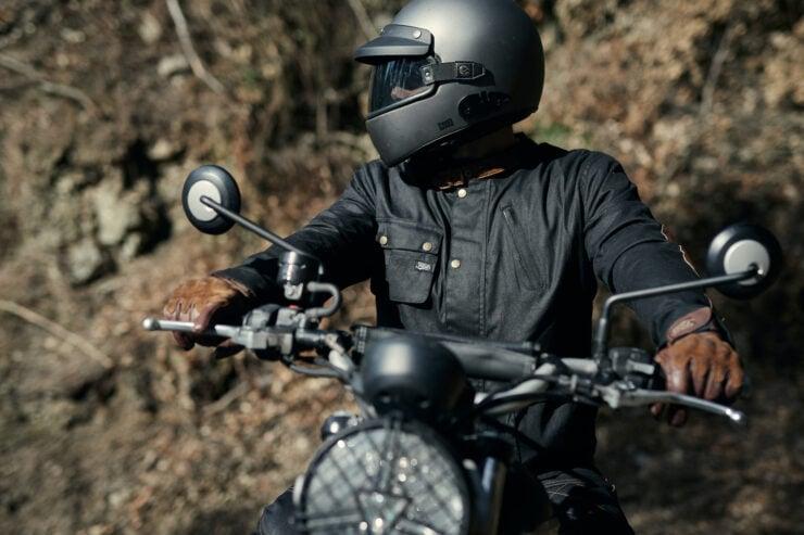 Fuel Division 2 Black Motorcycle Jacket 9