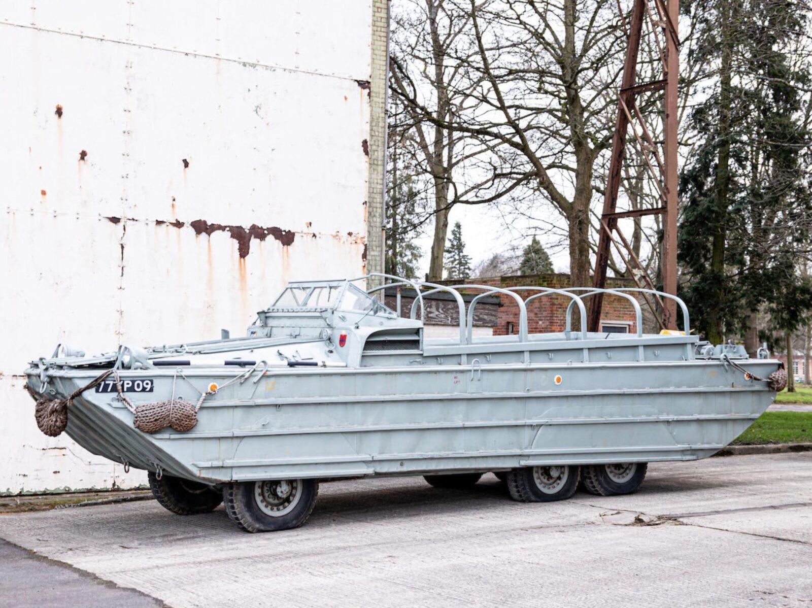 GMC DUKW Amphibious Landing Craft