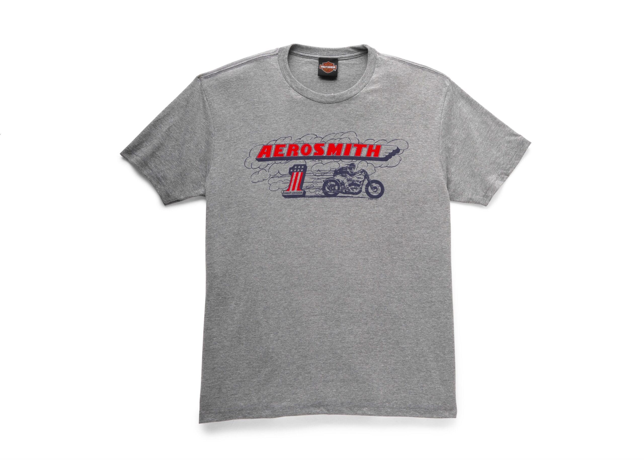 H-D x Aerosmith Burnout Tee