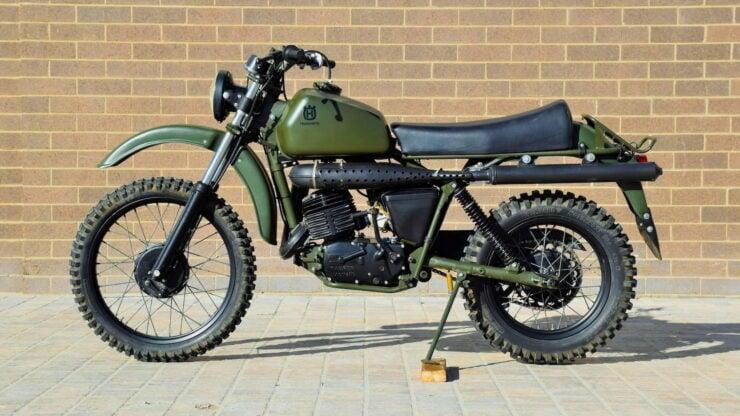 Husqvarna Model 258 Military Motorcycle 1