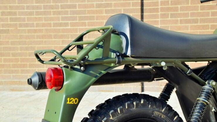Husqvarna Model 258 Military Motorcycle 10