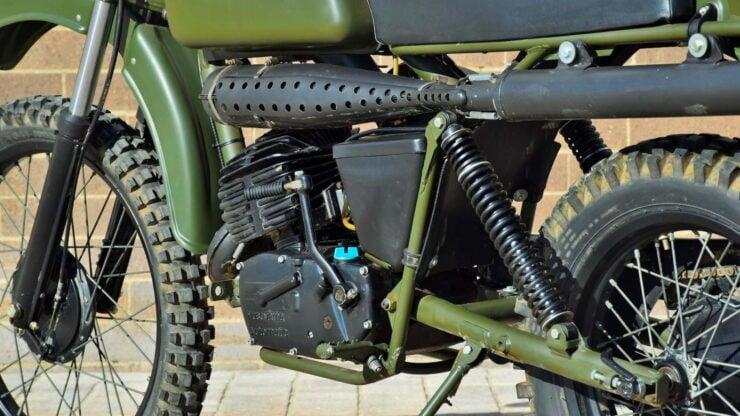 Husqvarna Model 258 Military Motorcycle 11