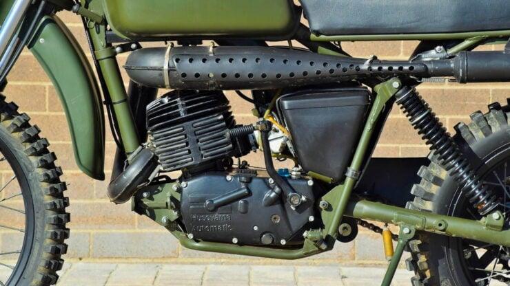 Husqvarna Model 258 Military Motorcycle 12