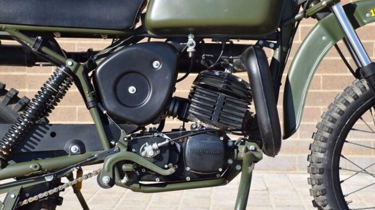 Husqvarna Model 258 Military Motorcycle 13