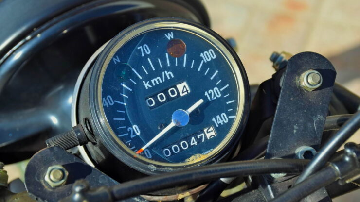 Husqvarna Model 258 Military Motorcycle 16