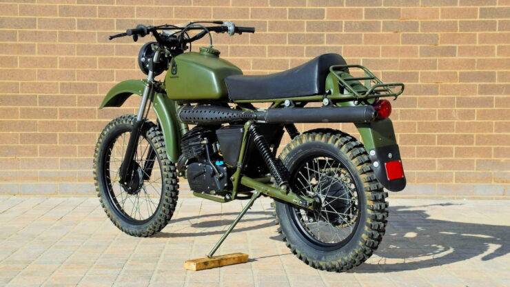 Husqvarna Model 258 Military Motorcycle 2