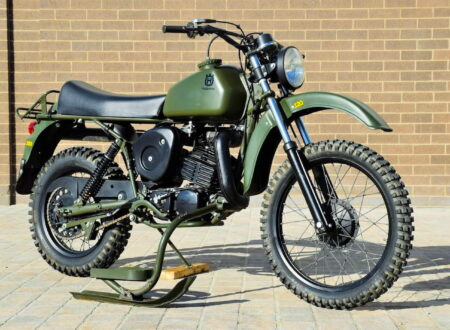 Husqvarna Model 258 Military Motorcycle 3