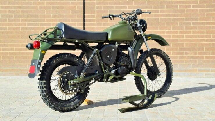Husqvarna Model 258 Military Motorcycle 4