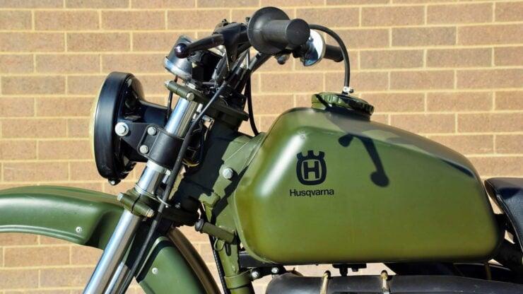 Husqvarna Model 258 Military Motorcycle 5