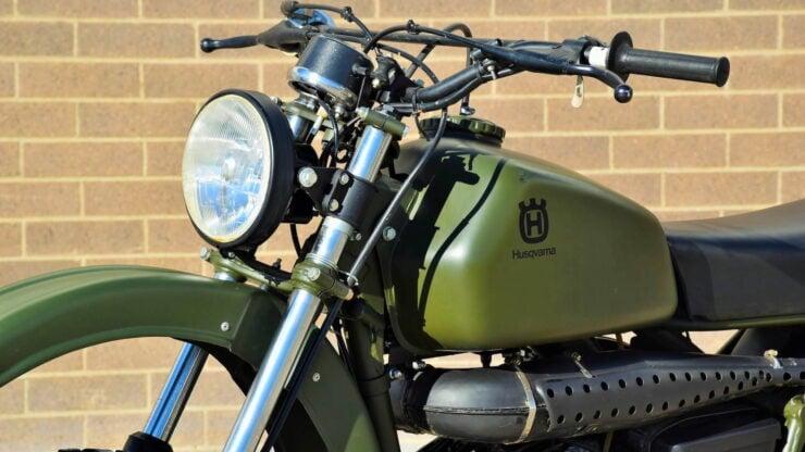 Husqvarna Model 258 Military Motorcycle 6