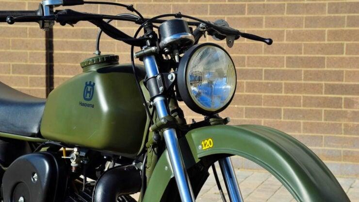 Husqvarna Model 258 Military Motorcycle 7