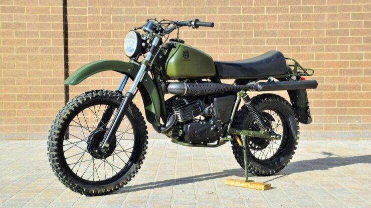 Husqvarna Model 258 Military Motorcycle