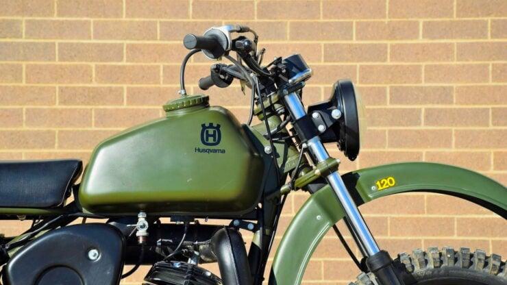 Husqvarna Model 258 Military Motorcycle 8