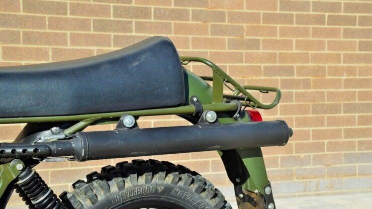 Husqvarna Model 258 Military Motorcycle 9