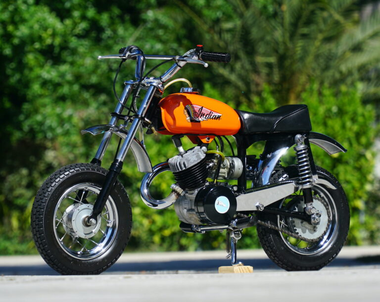The Smallest Indian Ever Made – The Indian MM5A Mini Bike